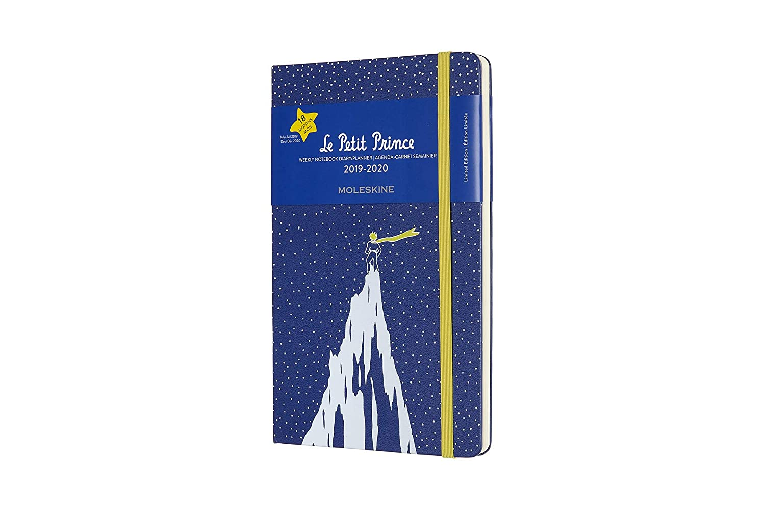 Moleskine Limited Edition Petit Prince 18 Month 2019-2020 Weekly Planner, Hard Cover, Large (5