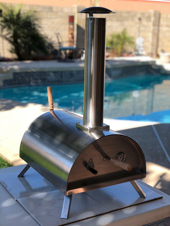 Amazon.com: Wood Pellet Pizza Oven + 5LB Pellets Package, WPPO, wppokit1 Stainless Steel: Garden & Outdoor