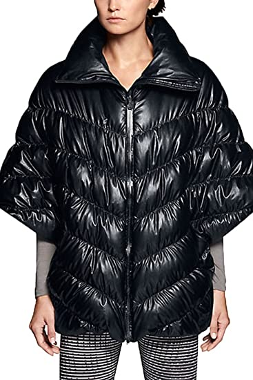 Amazon.com  Nike Womens Puffer Cascade Down Poncho Jacket 05021c967ae3
