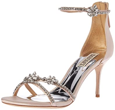 78bf6e76b8fe Amazon.com  Badgley Mischka Women s Hobbs Heeled Sandal  Shoes