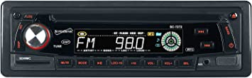 USB Supersonic SC-7272UC Car Audio with AM//FM Radio SD//MMC Card Reader and Detachable Panel