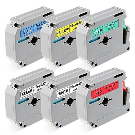 Amazon.com: Brother P-Touch M Tape cinta para impresora ...