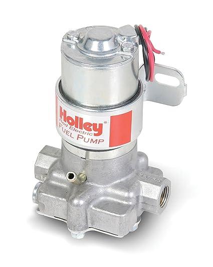 amazon com holley 712 8011 red electric marine fuel pump automotive