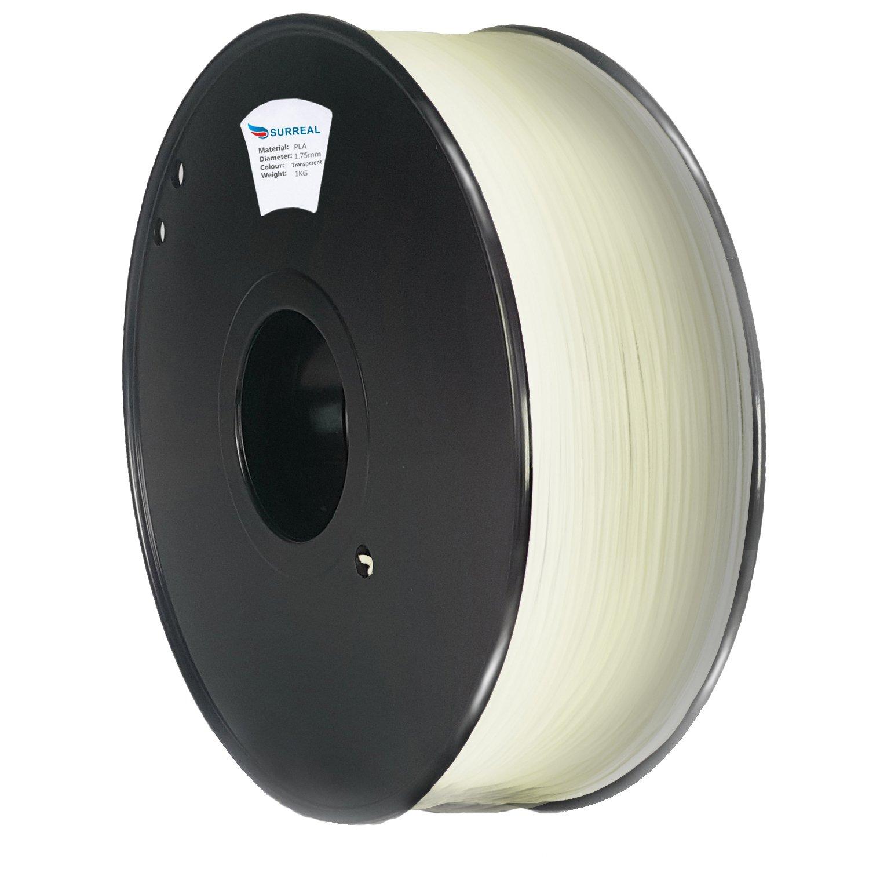 Surreal ABS Filament 1.75mm - per stampanti 3D - bobina da 1KG - Arancia 3D-1.75mmABS-1KG[ORANGE]