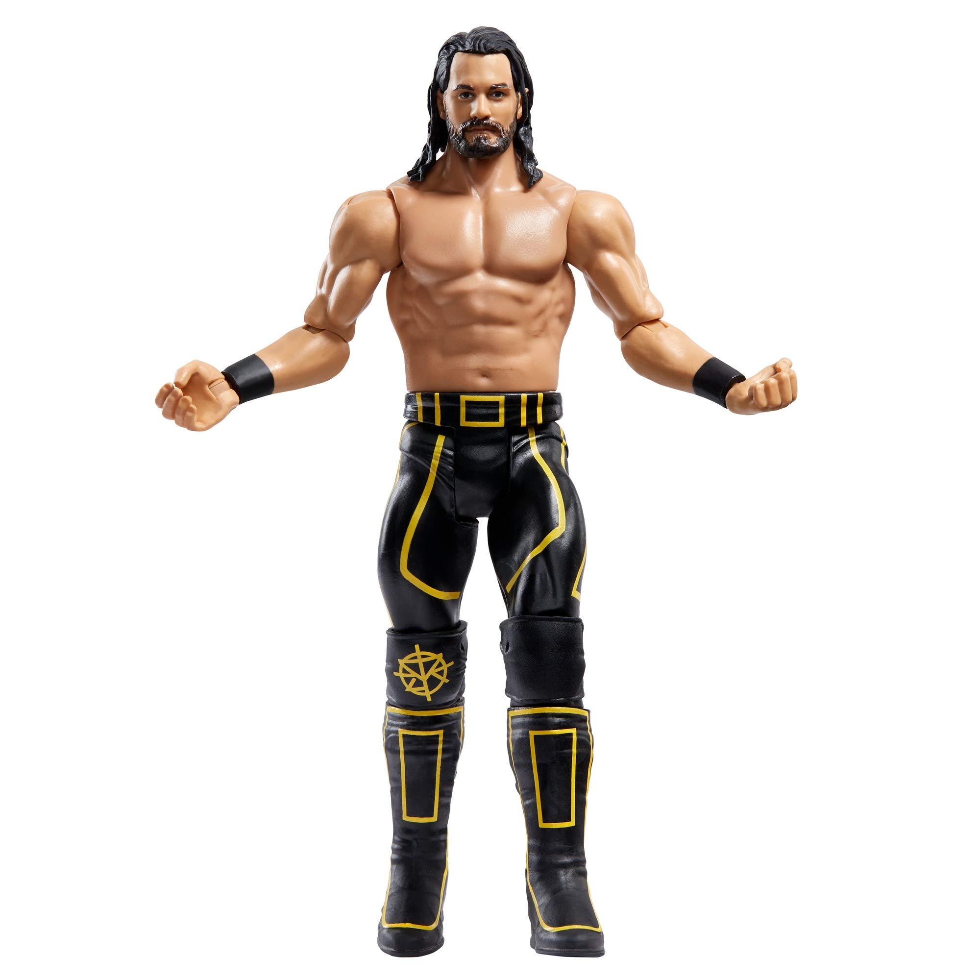 WWE MATTEL GKY56 WWE Seth Rollins Wrestlemania Action Figure