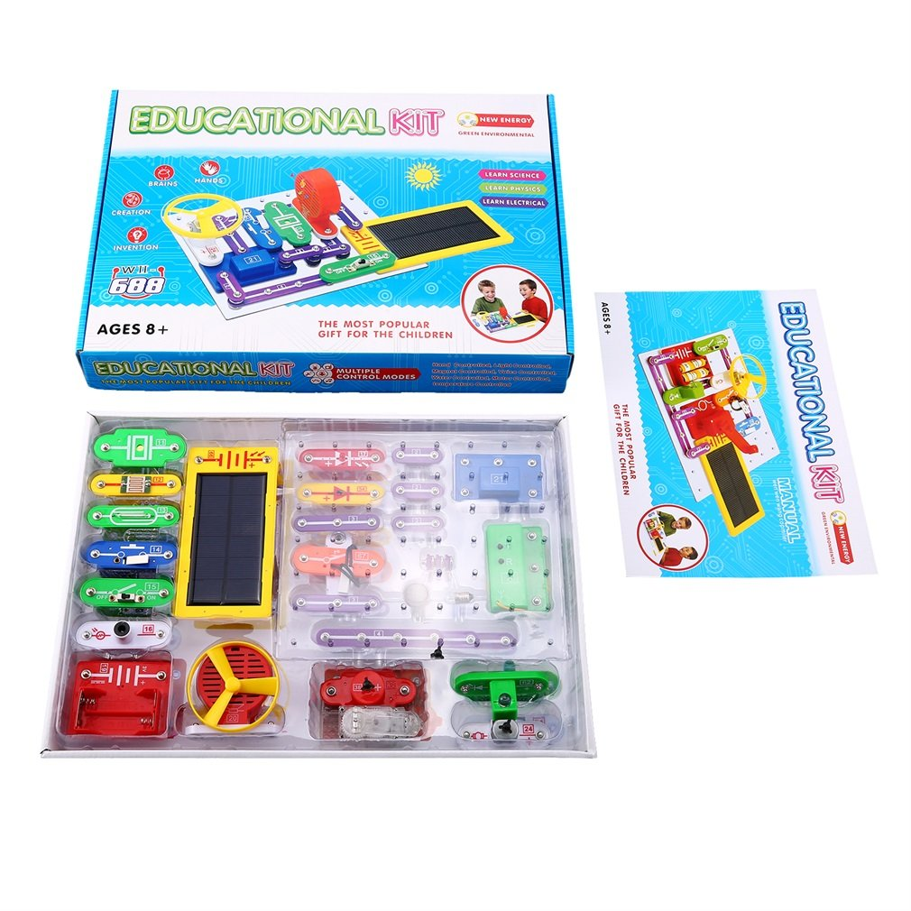 Yks Electronics Discovery Kitsolar Block Amazoncom Snap Circuits Motion Kit Toys Kiteducational Science Toygreat Christmas Gift For Children Learning Education