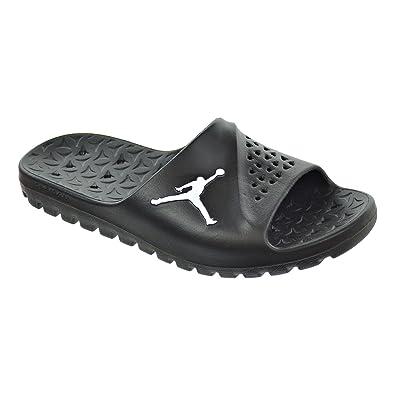 af85105a74c144 Jordan Super.Fly Team Slide Men s Sandals Black White Black 716985 ...