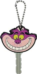 Disney Cheshire Cat Laser Cut Keyring Key Holder,Pink