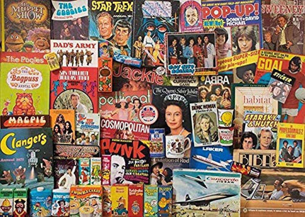 5Tdfc puzzle 1000 piezas madera adulto World Celebrity Books Juguetes educativos para niños, regalos para juegos de bricolaje