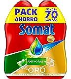 Somat Oro Gel Lavavajillas Antigrasa - 70 Lavados (1.26 l)