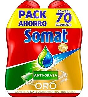Somat Abrillantador, Aditivo Lavavajillas, 0,5 L, Pack de 4 ...