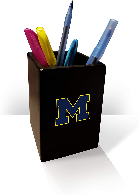 Fan Creations NCAA Michigan Wolverines Pen/Pencil Holder