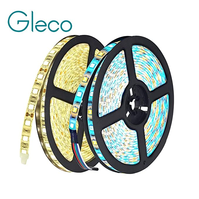 Amazon.com: Dc12 V 5 M Led Strip 5050 RGB,Rgbw,Rgbww 60 Le Ds/M Flexible Light 5050 Led Strip RGB White,Warm White,Red,Blue,Green - (Emitting Color: RGBWW, ...