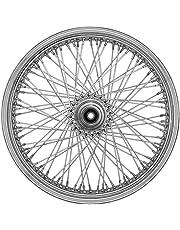 amazon wheel hubs wheels accessories automotive Drum Brake System ride wright wheels inc omega 80 spoke 21x3 5 front wheel single disc
