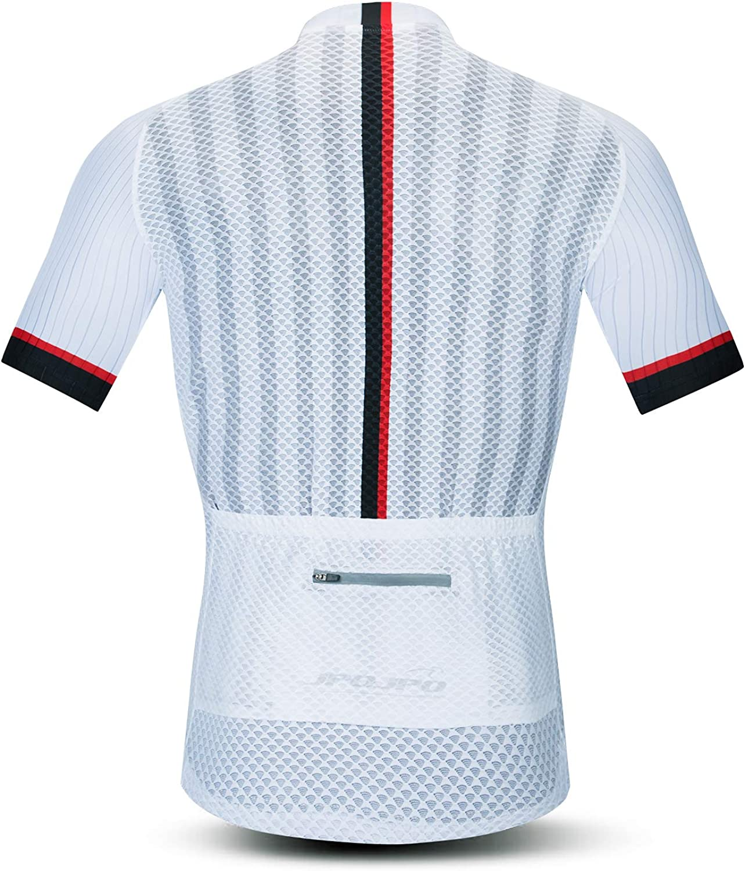JPOJPO Cycling Jersey Mens Short Sleeve Outdoor Sports Mens MTB Mountain Bike Tshirt