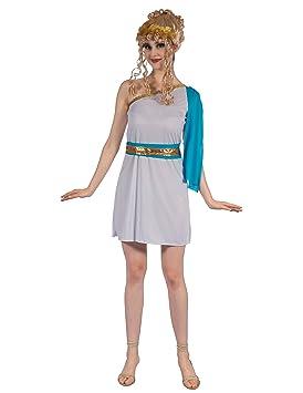 Generique - Disfraz emperatriz Griega Azul Mujer S: Amazon.es ...