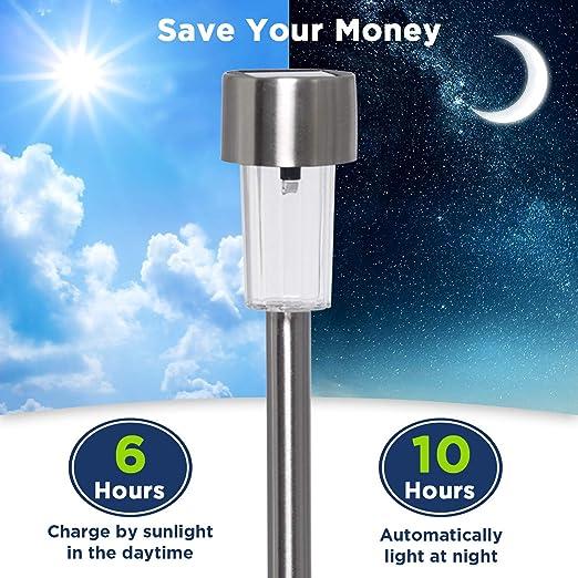 Amazon.com: Westinghouse - Luces solares para camino, luz ...