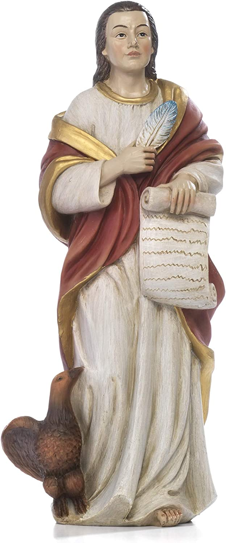 21/ art/ículos religiosos de paben Estatua de San Juan evangelista de Resina CM