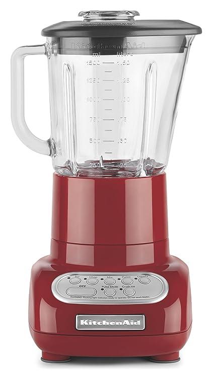 amazon com kitchenaid 5 speed blender with glass blender jar rh amazon com