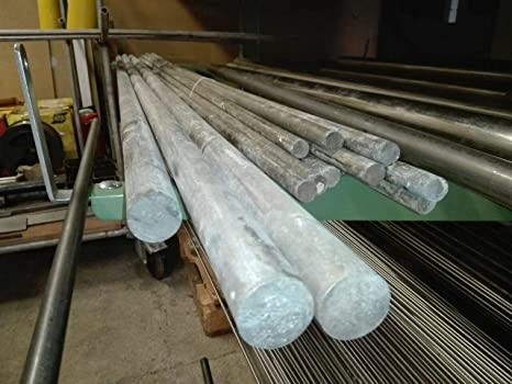 Barra de magnesio de 4 mm - 120 mm, pureza 98%, varilla de