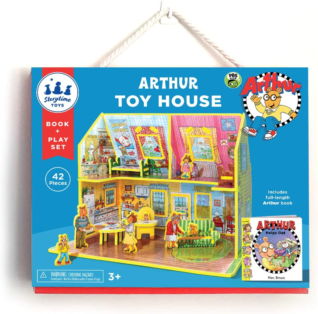 STORYTIME TOYS Arthur's Toy House Book and Toy Set - PBS Kids Toys; Take Apart STEAM EducationalToys