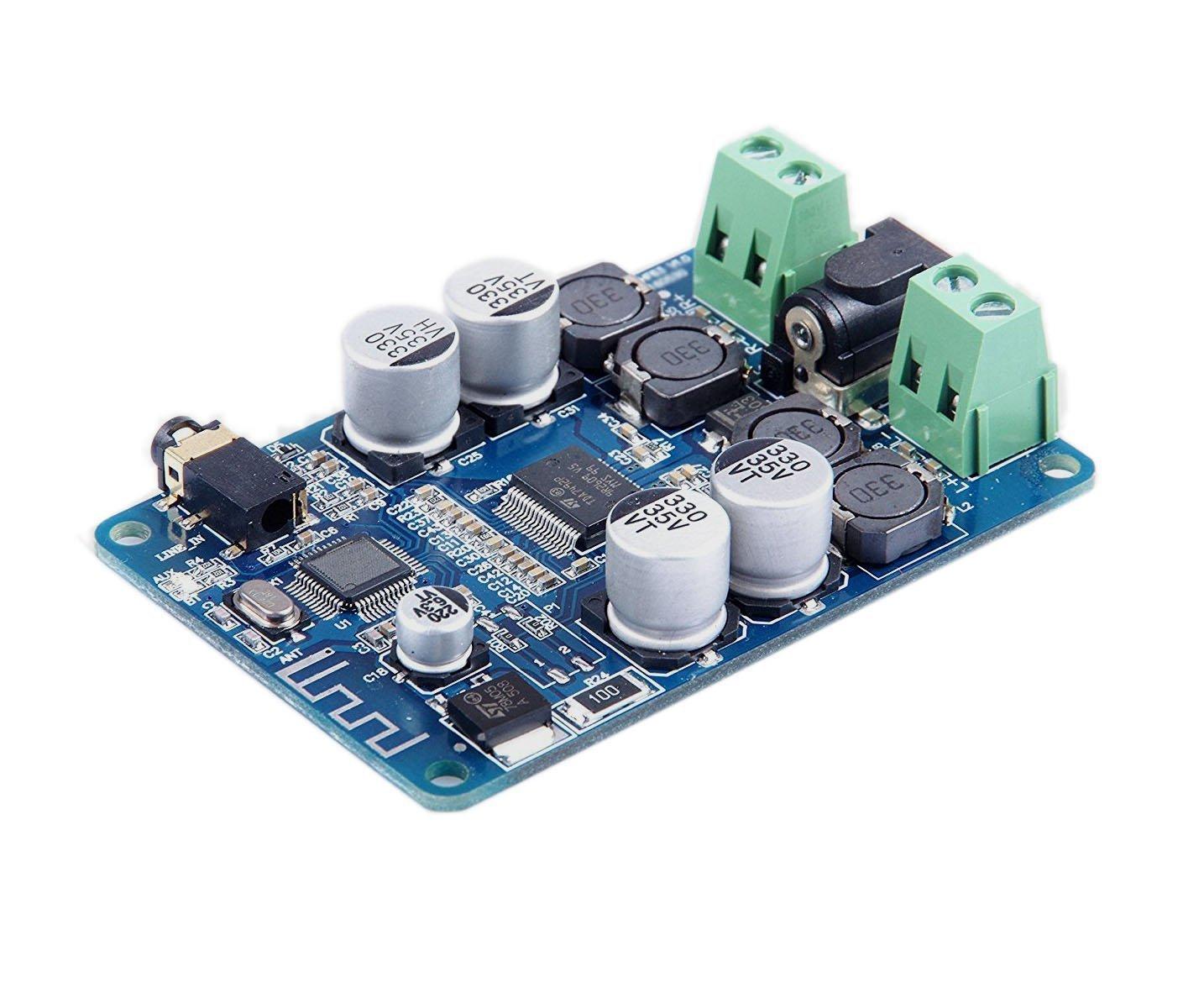 25 W st/ér/éo Bluetooth audio r/écepteur num/érique amplificateur de puissance conseil ARCELI Bluetooth CSR4.0 amplificateur de puissance carte puce TDA7492P 25 W