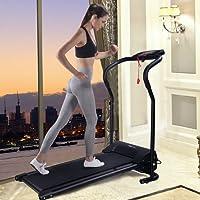 Tapis roulant électrique Tapis de marche de course Machine de fitness d'exécution de formation avec écran LCD