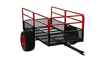 yutrax tx158 negro/rojo Trail Warrior X2 ATV remolque para bicicleta
