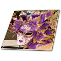 3dRose ct_82053_4 Carnival Party Masks, Venice, Italy-EU16 BBA0176-Bill Bachmann-Ceramic Tile, 12""