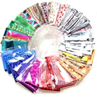 Broadroot 30pcs Nail Art Fittings Transfer Foil Stickers Paper