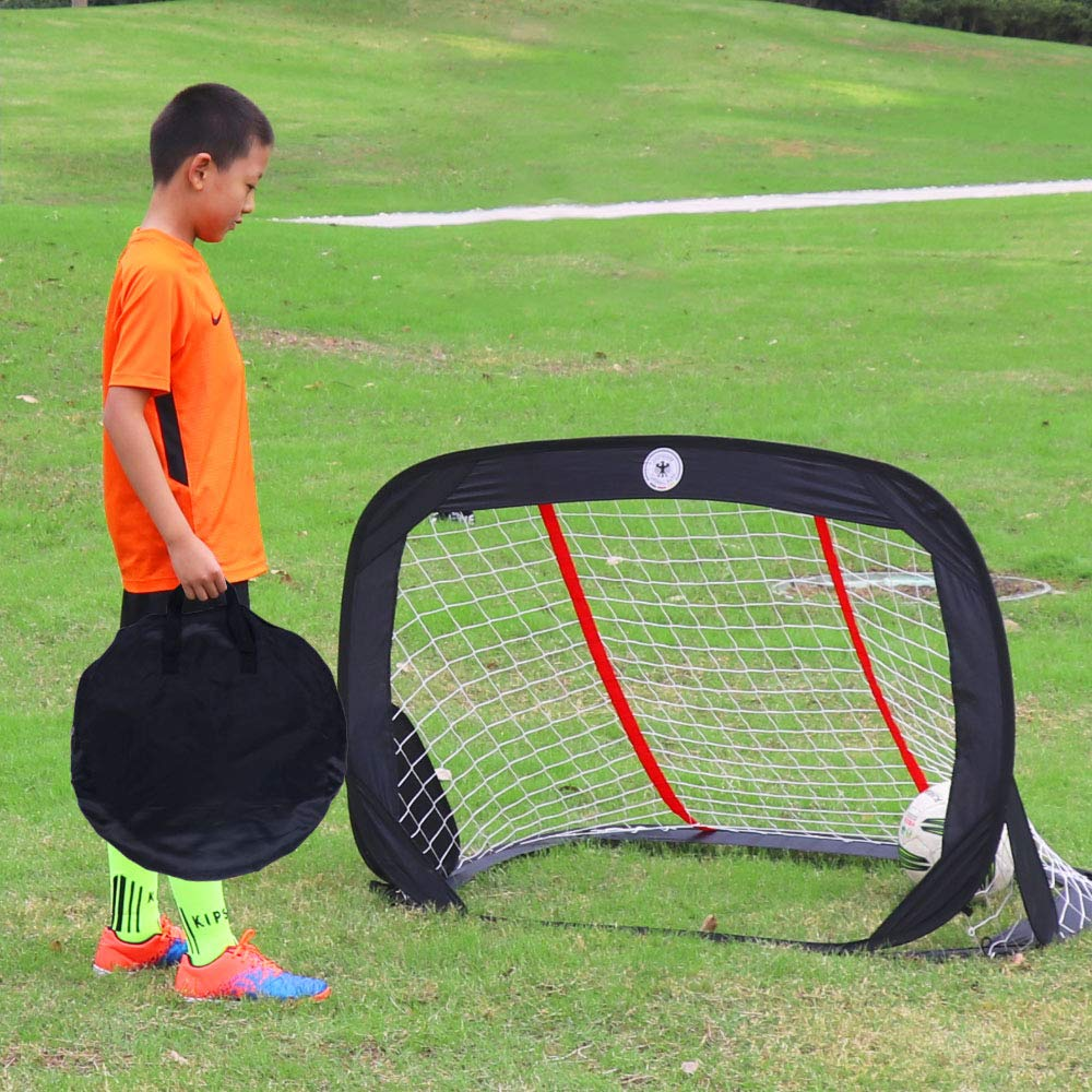 """56abeb815 WisHome 47.3"""" Foldable Children Pop-Up Play Goal for Outdoors Portable  Square Soccer Goal with Carrying ..."""