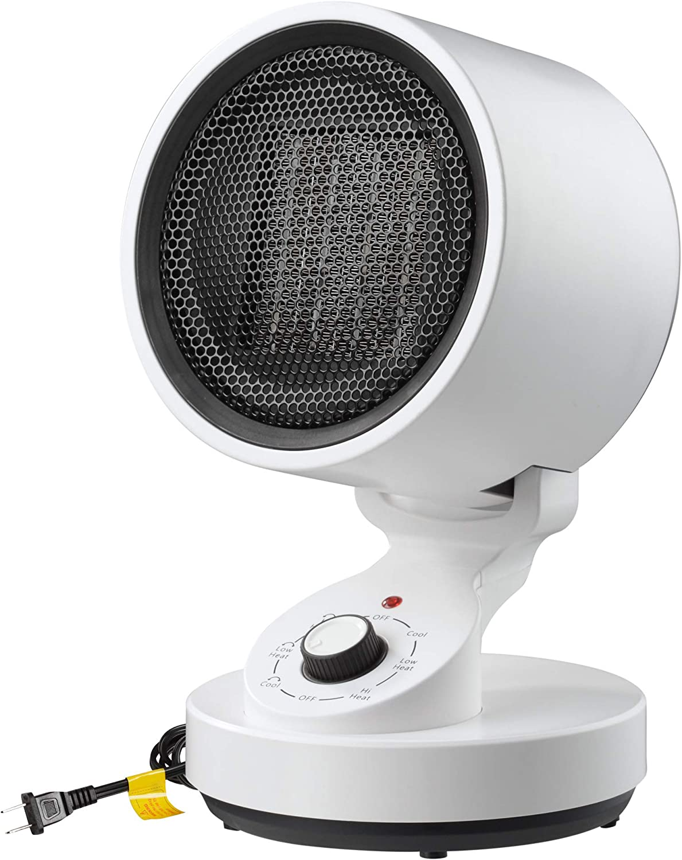 Yescom 1500W PTC Oscillating Ceramic Heater Fan Warm & Cool Overheat Protection Home