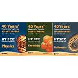40 Years' Chapterwise Topicwise Solved Papers IIT JEE Mathematics, Chemistry, Physics