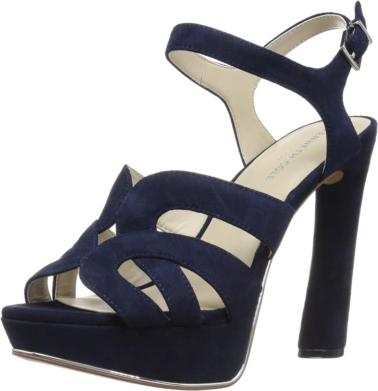 Kenneth Cole New York Women's Nealie Platform Heeled Sandal