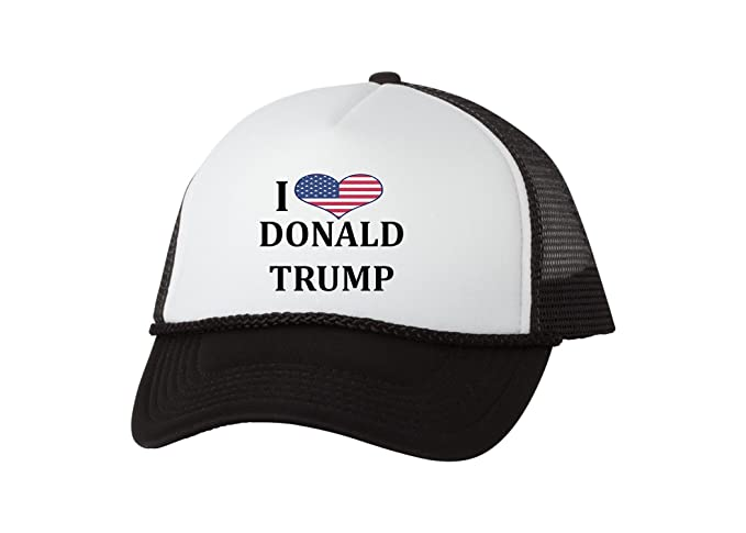 32cd8a37b Rogue River Tactical Love Donald Trump Baseball Cap Retro Vintage Novelty  MAGA Trucker Funny Hat