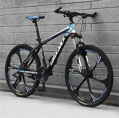 WJSW Bicicleta de montaña para Adultos, Off-Road Mens MTB ...