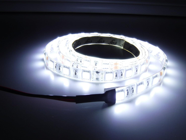 sale retailer 1a14b c1943 Amazon.com : Marine Flexible LED Light Strip 12V 2ft WHITE ...