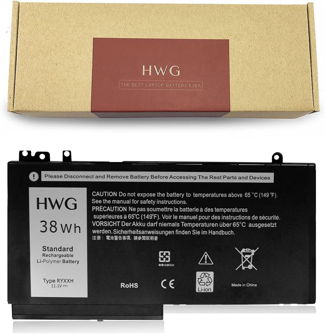 HWG RYXXH Battery Compatible Latitude 12