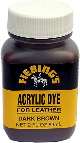 Fiebings Acrylic Dye (tinte acrílico, para piel) (2oz/59ml ...