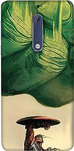 غطاء هاتف لنوكيا 5 من كولركينج ، متعدد الالوان