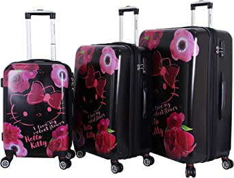 Hellokitty Trolly Luggage Set , 3 Pieces , Multi Color , 9952