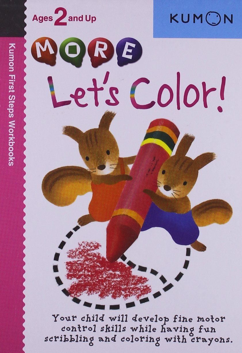 More Let's Color (Kumon First Steps Workbooks): Amazon.co.uk ...