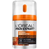L'Oreal Paris Men Expert Hydra Energetic Face Cream , 24H Non-greasy Face Moisturizer for Men, with Vitamin C For Dry…