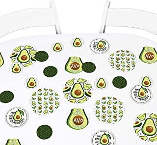 product image for Big Dot of Happiness Hello Avocado - Fiesta Party Giant Circle Confetti - Party Decorations - Large Confetti 27 Count