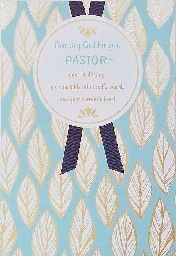 Amazon.com: Agradeciendo a Dios por usted Pastor -