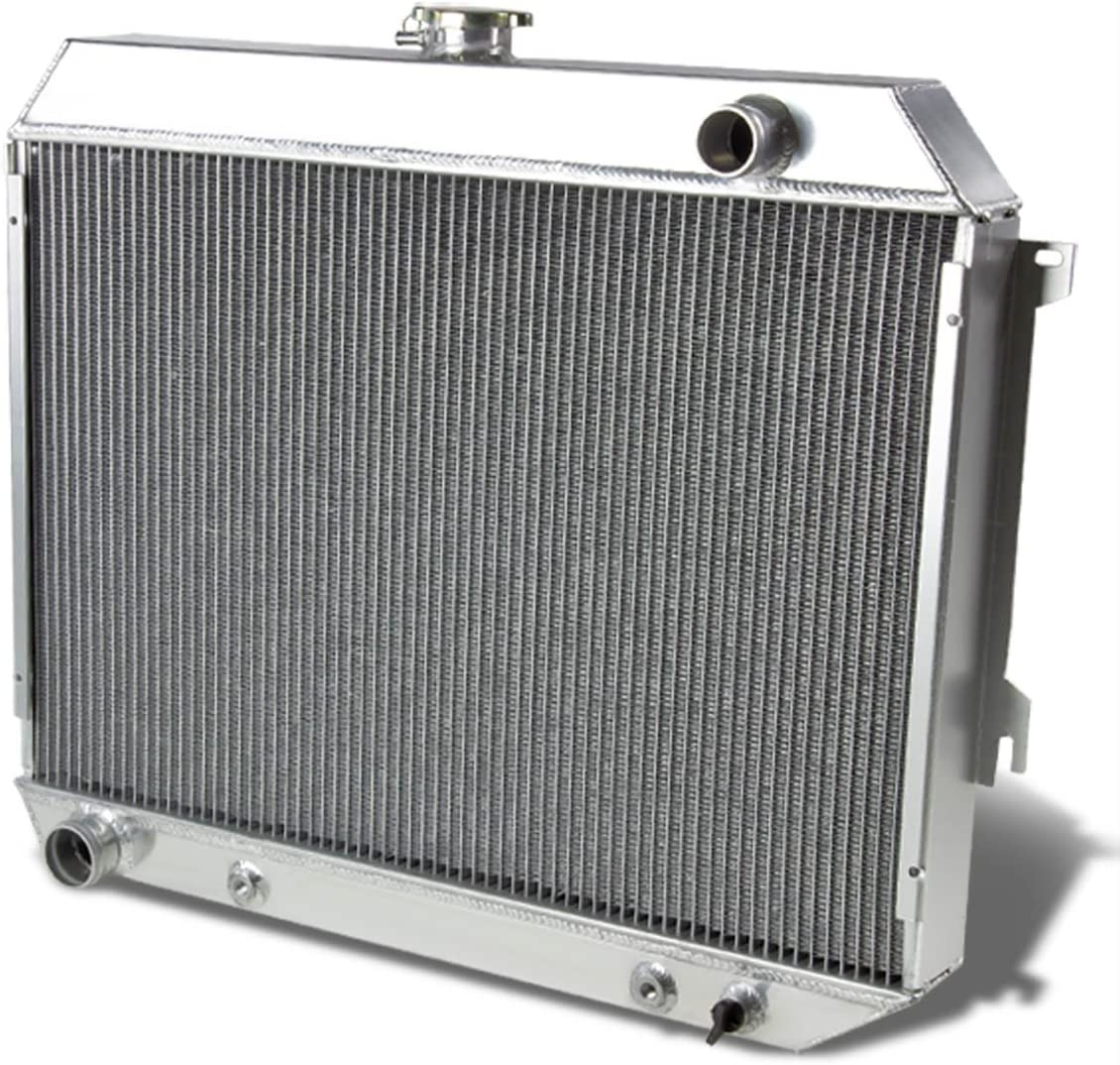 3 ROWS ALUMINUM RADIATOR for Dodge Charger 1968-1974 Plymouth GTX 2 Fans