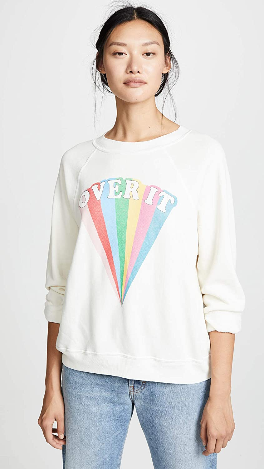Wildfox Womens Over It Sommers Sweaters