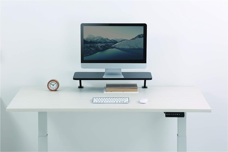 Startech Com Mnriserclmp Bildschirmerhöhung Schwarz Computer Zubehör
