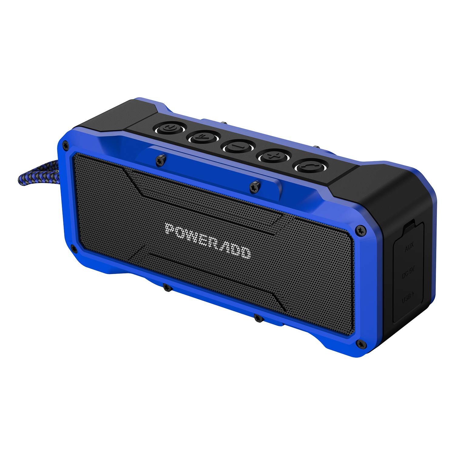 Enceinte Bluetooth Portable 36W Waterproof couleur bleu