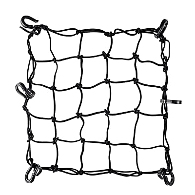 "Super Strong Stretch Heavy-Duty 15"" Cargo Net for Motorcycle ATV - Stretches to 45"": Home Improvement"